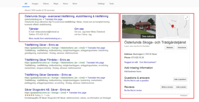 Do SEO on page and rank your website at top of google